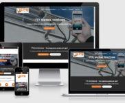 Criação de site para empresa de segurança eletrônica