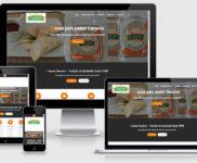 Criação de site para indústria alimentícia e restaurantes