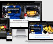 Criação de site para empresa de serviços