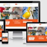 Criação de sites para empresas de serviços - Template Mod. Meso