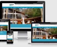 Criação de site para empresa de esquadrias de pvc