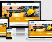 Criação de site para empresas de engenharia