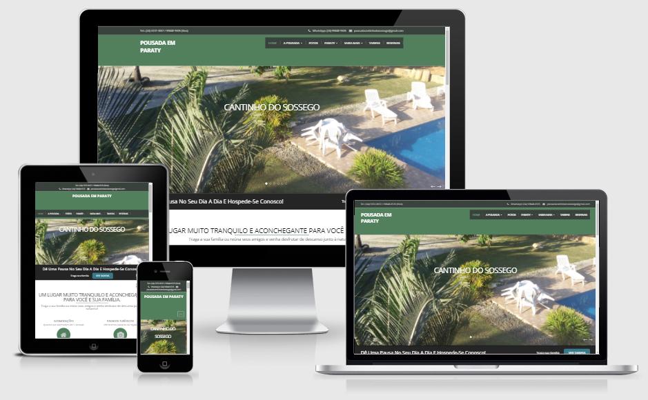 Divulgação de site no Google e criação de sites