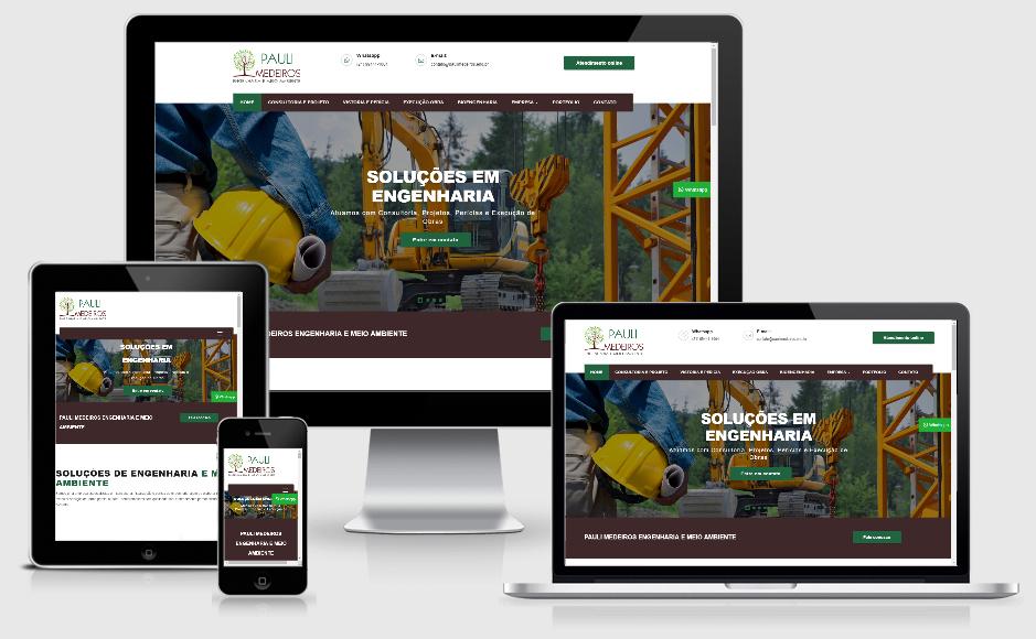 Criação de site para Engenheiros