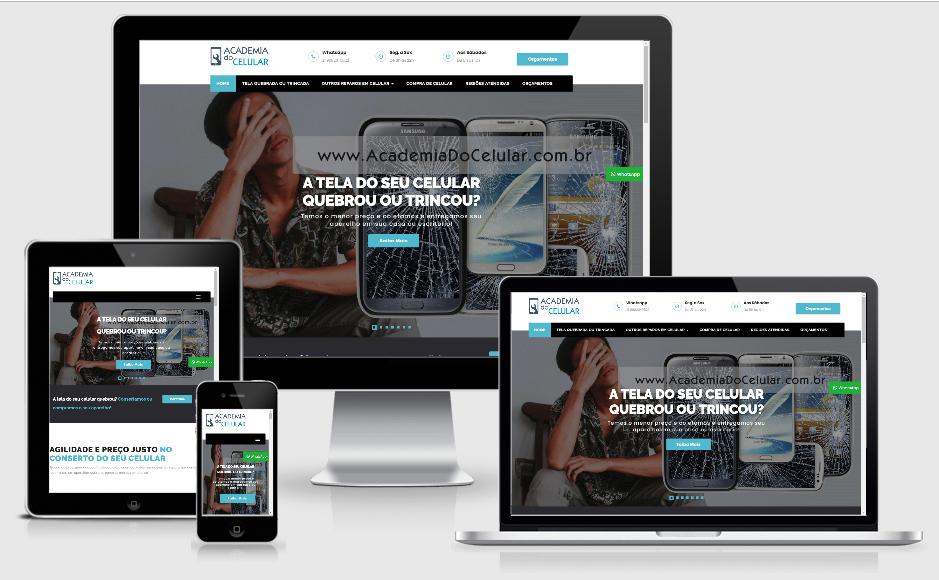 Criação de site para empresa de servicos