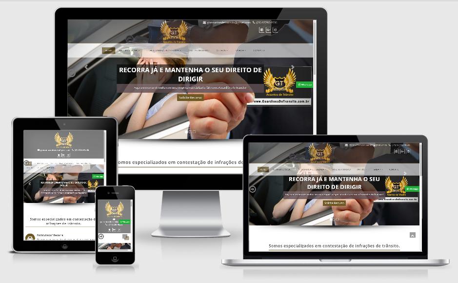 Criação de site para Despachantes e Advogados