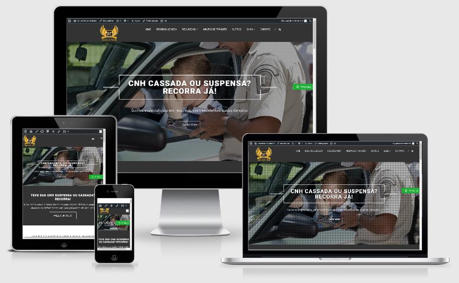 Criação de site para advogados, contadores e despachantes