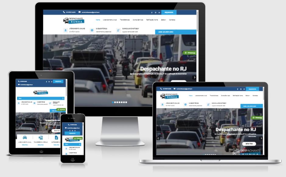Site Para Despachantes e Advogados