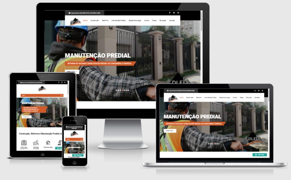 Sites para Construtores e Engenheiros